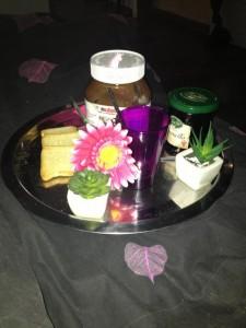 Petit déjeuné au lit