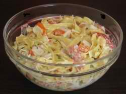 Salade de pate surimi