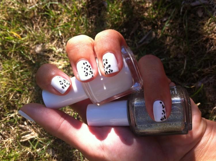 léopard blanc