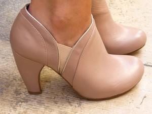 Low Boots rose poudré Schubar 95€