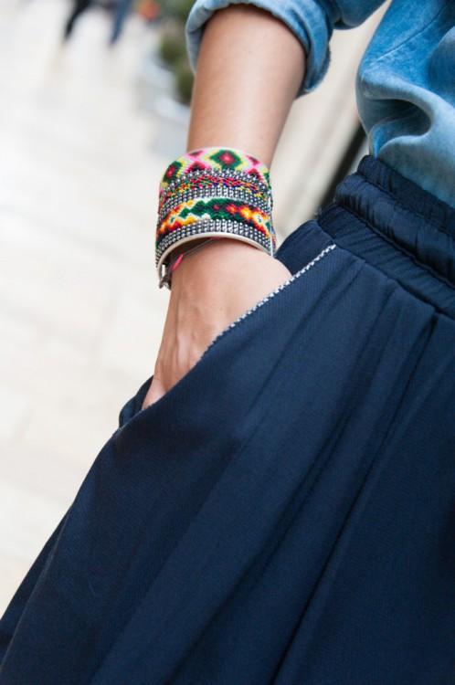 Bracelet manchette Atelier des Dames