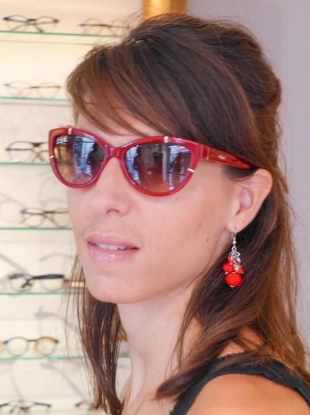 Lel rouge Histoire de lunettes