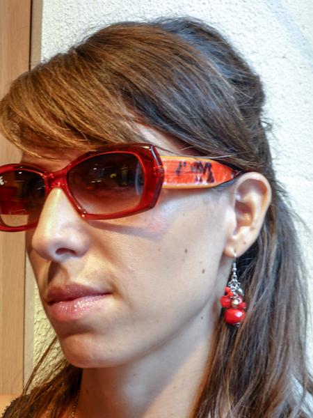 lel orange Histoire de lunettes