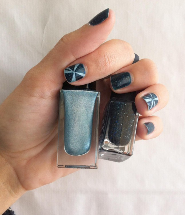 Hope Picture Polish // Blue Promise Peggy Sage