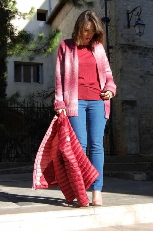 Top en laine Nice Things 50€ Gilet en alpaga Yerse 130€ Doudoune Gertruce 150€ Bottines Schubar déjà vues ici