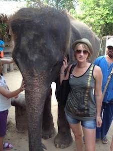 rencontre avec un éléphant