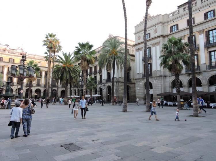 Place Reial. Quartier Gotic