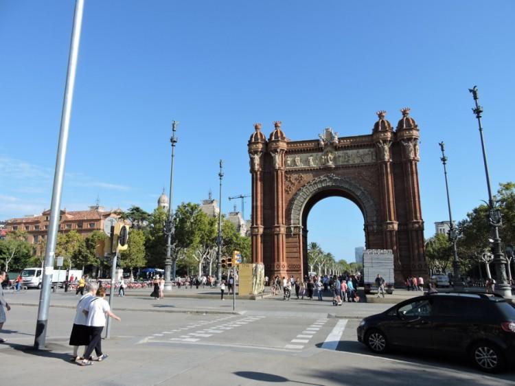 Arc de Triomphe. Quartier de l'Eixample