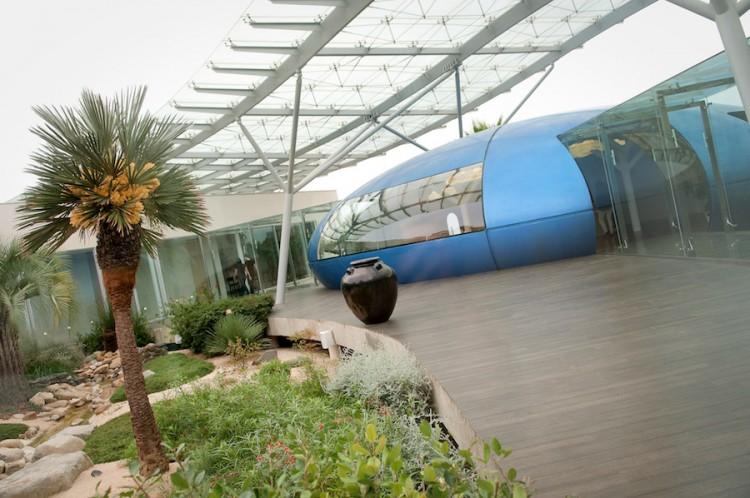 Spa Les Jardins d'Aureane Montpellier Terrasse Qi Gong