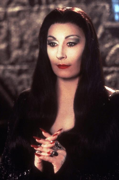 halloween Morticia addams