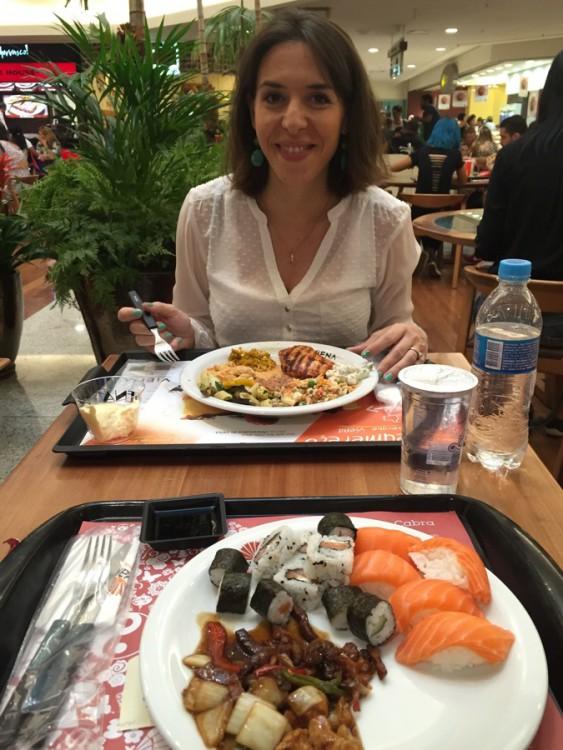 Mon assiette m'a coûté 8€ :-)