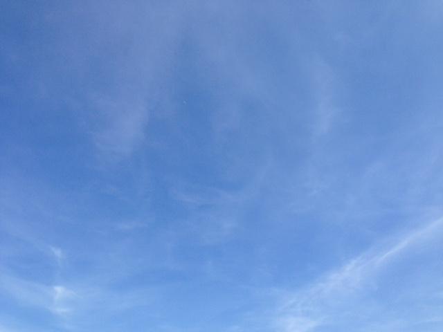 ciel bleu Montpellier