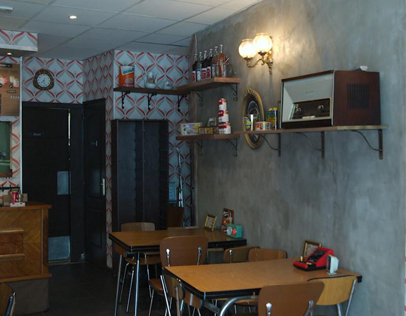 Tendres volailles restaurant vintage Montpellier quartier des beaux-arts