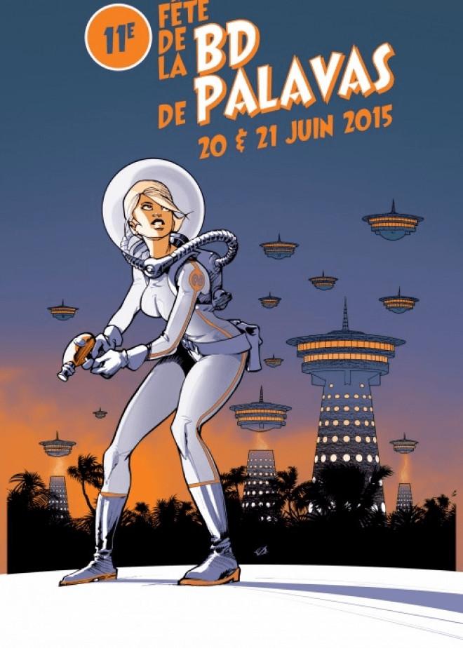 Fête de la bd à palavas 11eme edition 2015