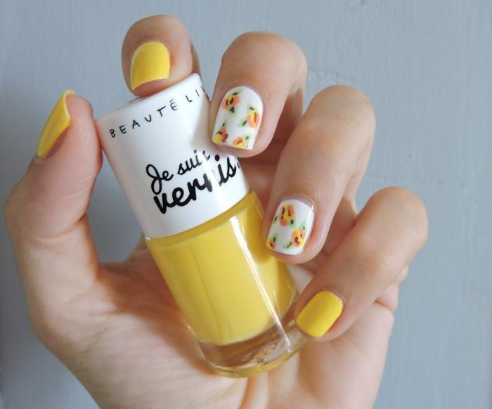 vernis jaune camomille gouiran