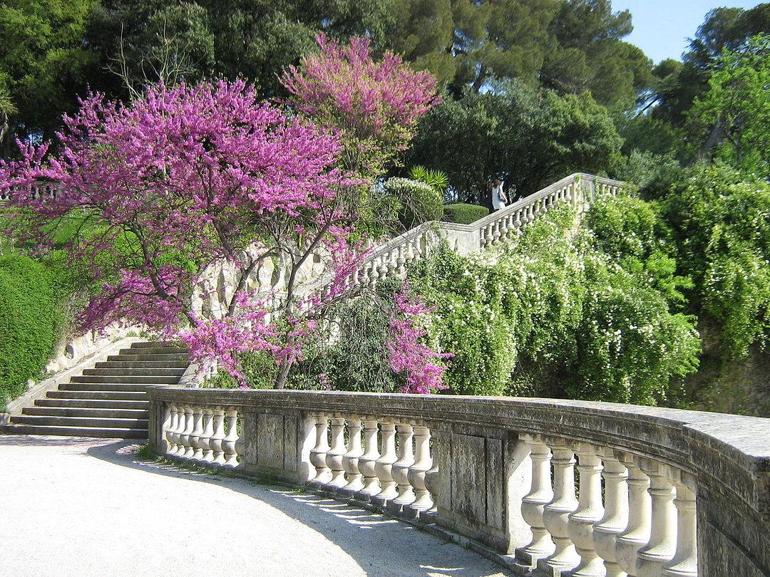 Promenade d 39 automne aux jardins de la fontaine lcdm for Maison de la literie nimes