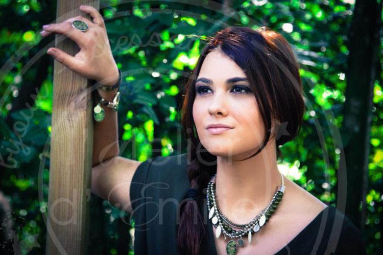 latelier demilie collier bijoux fantaisie boheme chic Bene