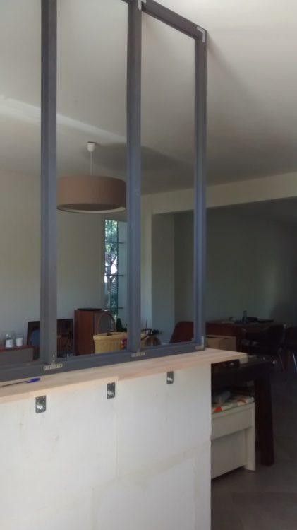poser une verriere verriere entree salon armoire with poser une verriere beautiful et. Black Bedroom Furniture Sets. Home Design Ideas
