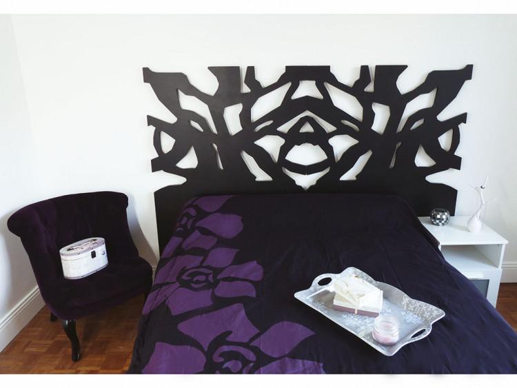 Tête de lit, Collectif du lit, peinture, lcdm