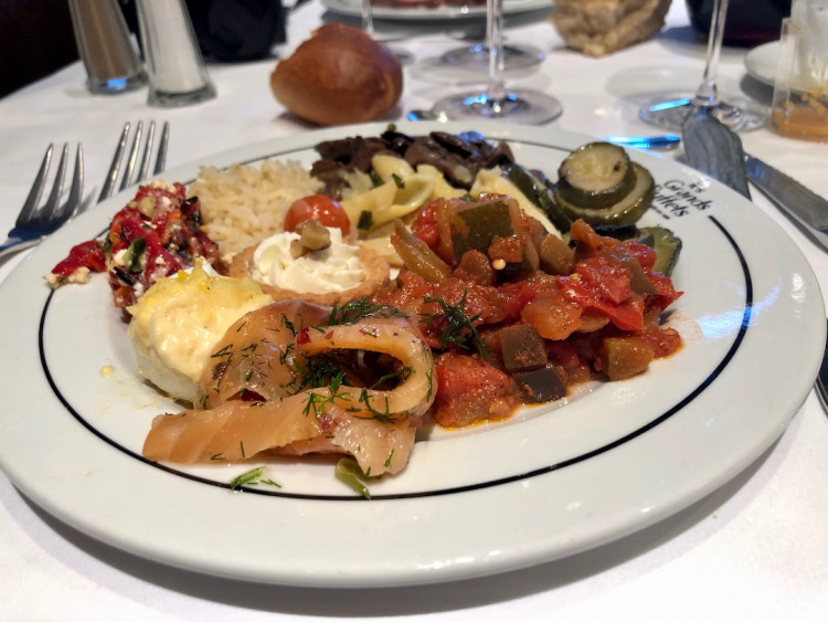 assiette restaurant Les Grands Buffets