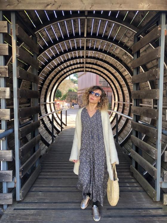 Ma robe longue Indi&Cold, esprit Bohème
