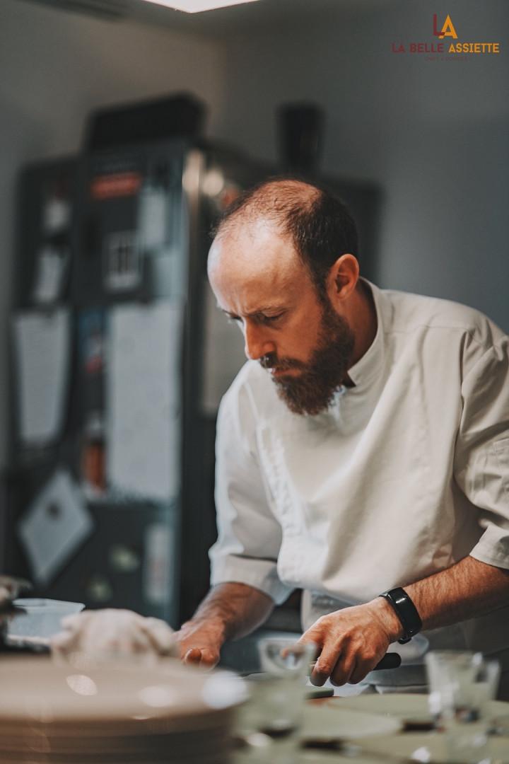 Chef de cuisine benoit Hervo