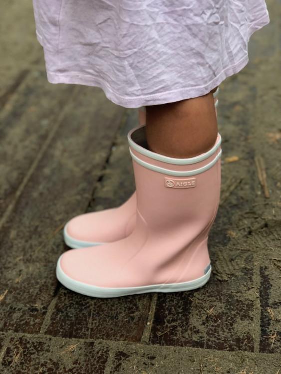 bottes de pluie Aigle Lollipop pour petite fille