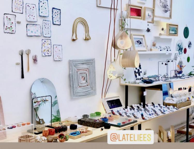 l'Ateliers à Montpellier un concept store de créateurs et d'artistes