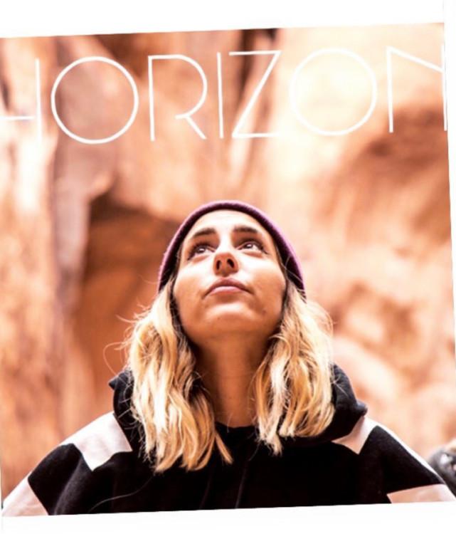 visuel Horizon podcast réalisé par Léna Champy