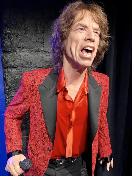 Mick Jagger statue de cire musée Grévin à Paris