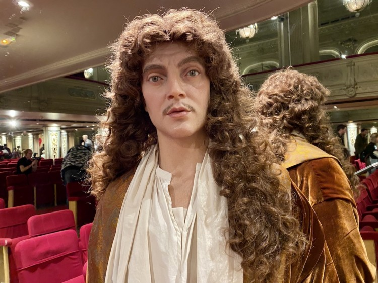 Molière statue de cire musée Grévin à Paris