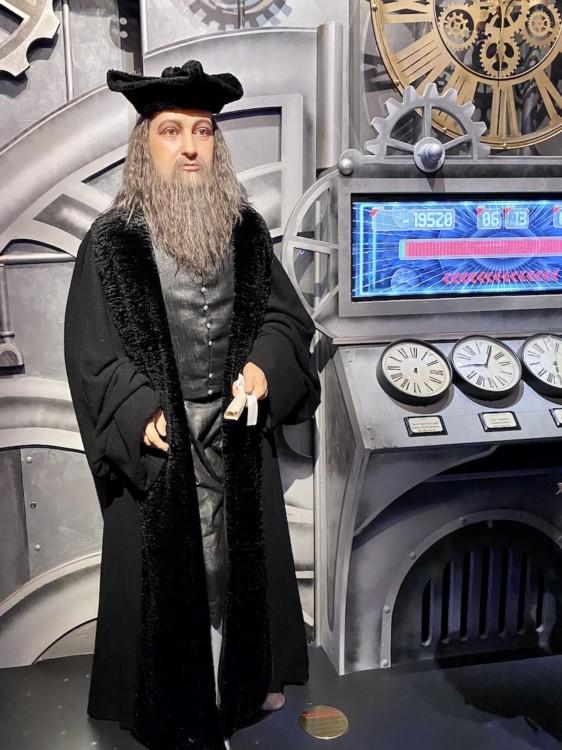 Nostradamus musée Grévin à Paris