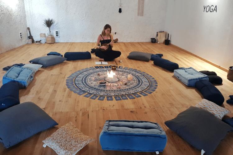 Salles de yoga et de méditation