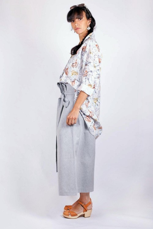 Sarouel et chemise large