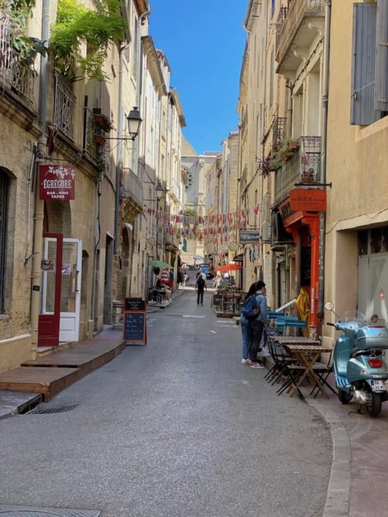 Rue de la fontaine Montpellier centre-ville