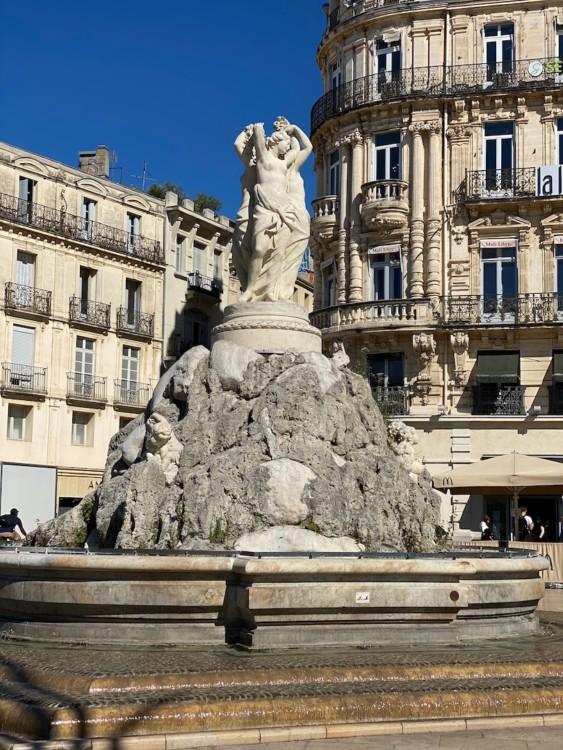 Fontaine des 3 Grâces Montpellier