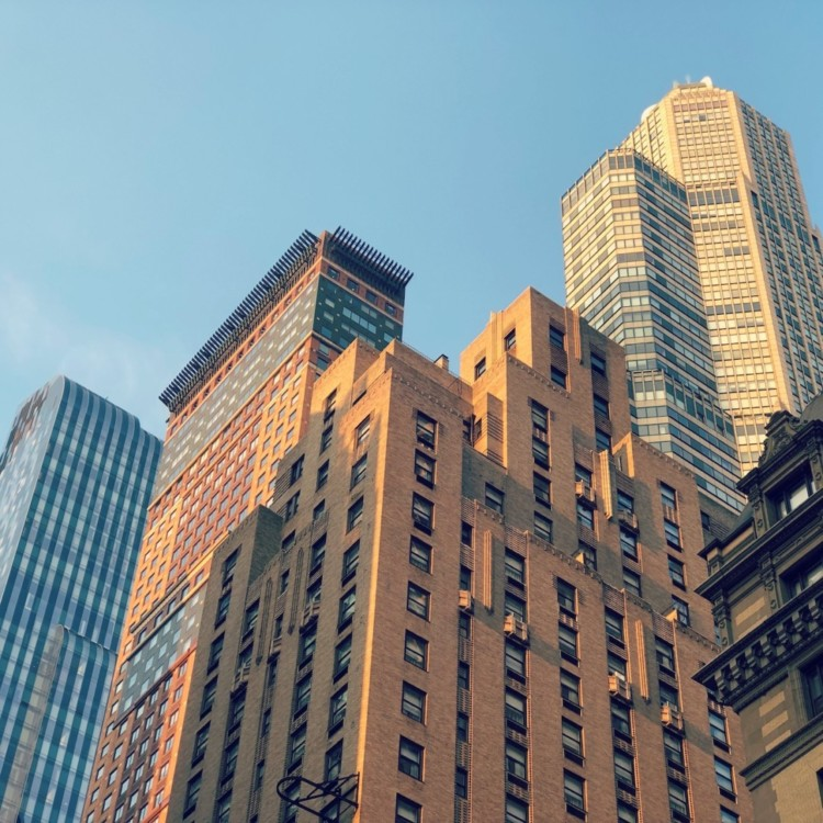 Gratte ciel photo de rue New York