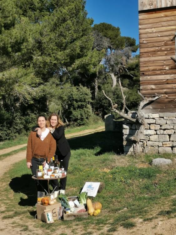 Photo Geraldine et Céline Le cabas des frangines