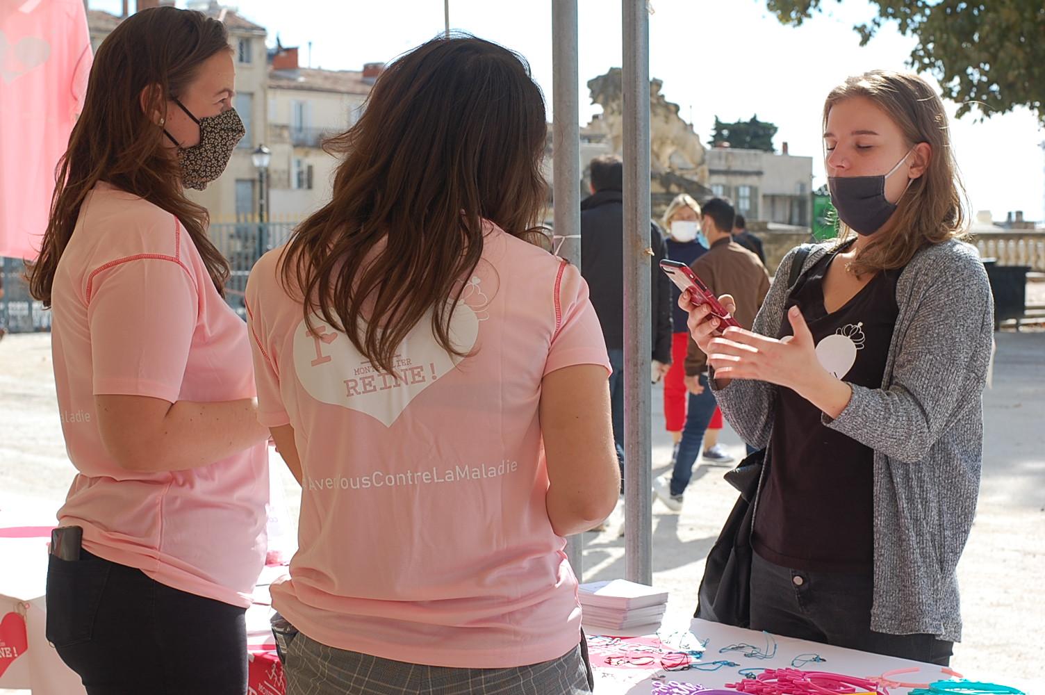 Bénévole et community manager La Montpellier Reine 2020