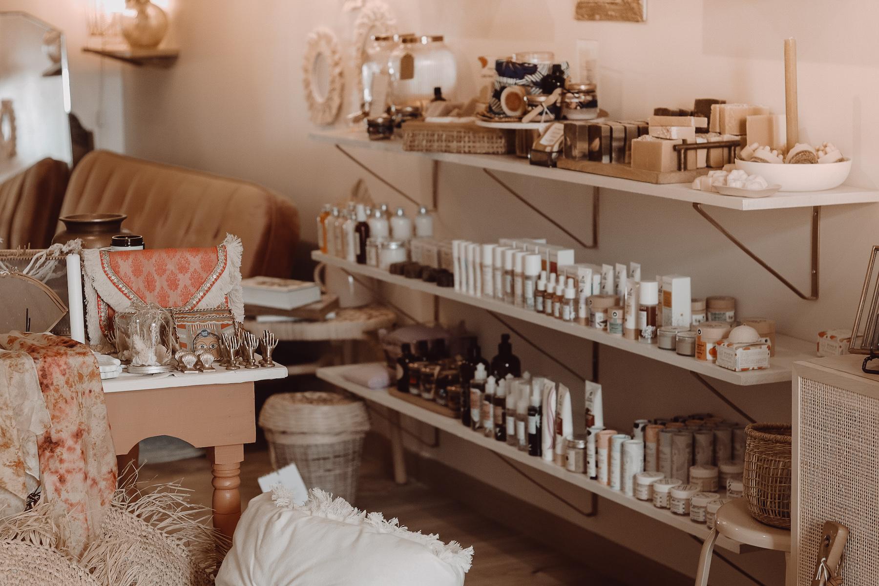 Boutique beauté bien-être